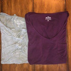 Bundle of 2 Hollister T-Shirts